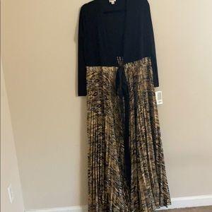Long sleeve  dress DeAnne new lu la Roe elegant